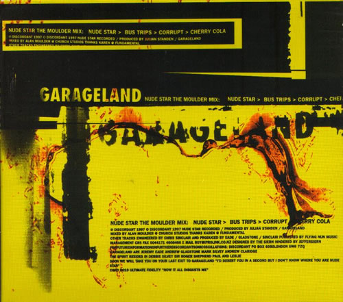 Garageland - Nude Star The Moulder Mix