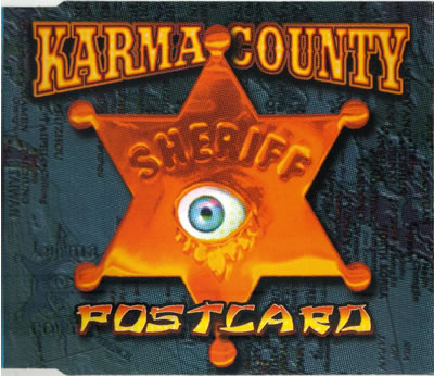 Karma County - Postcard