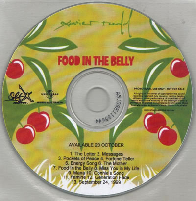 Xavier Rudd - Food In The Belly (Advance Copy)
