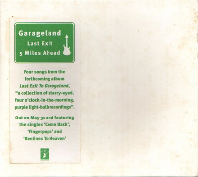 Garageland - Last Exit To Garageland (Advance Sampler)