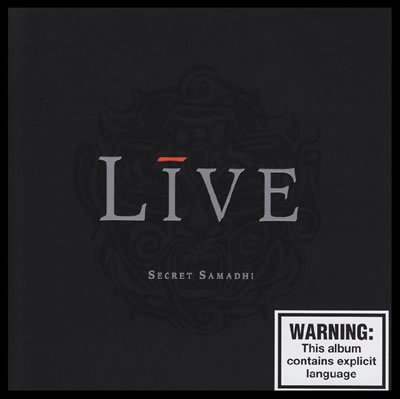 Live - Secret Samadhi (Bonus Disc)