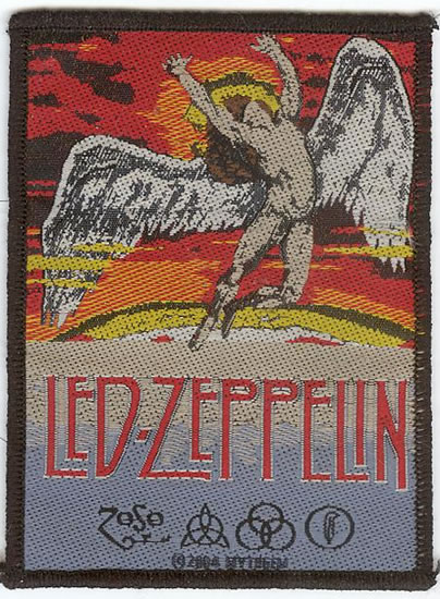 Led Zeppelin - Flying Badge