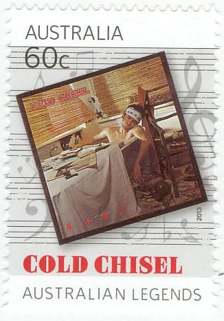 Cold Chisel - Cold Chisel East Stamp